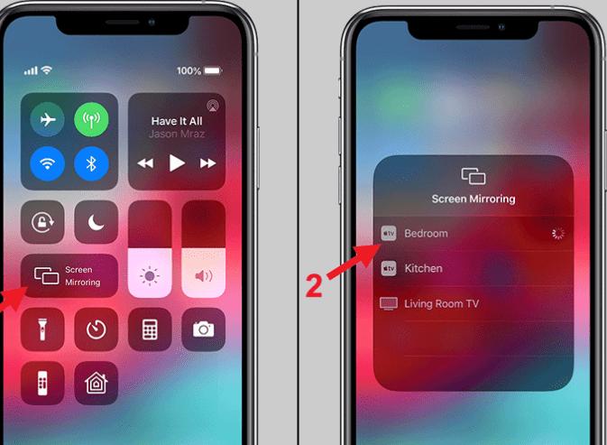 Khắc phục lỗi iPhone không phản chiếu màn hình